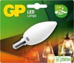 gp led kaars Filament 2,5w e14 (25w) Mat