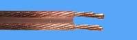 ls kabel 2 x 1.50 mm² transparant 100 mtr.