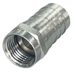 F-connector crimp 6mm