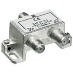F-splitter 5-1000 MHz; voor CAI; 2 -voudig