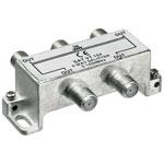 F-splitter 5-1000 MHz; voor CAI; 4 -voudig