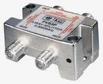 F-splitter 5-2450 MHz; voor SAT; 3-voudig
