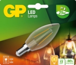 gp led kaars Filament 2,1w e14 (25w) warm wit