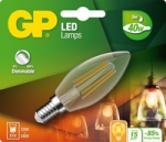 gp led kaars Filament dimb 4,8w e14 (40w) ww