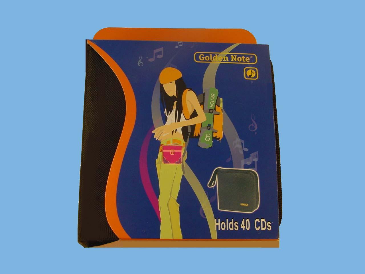 CD wallet 40 cd's