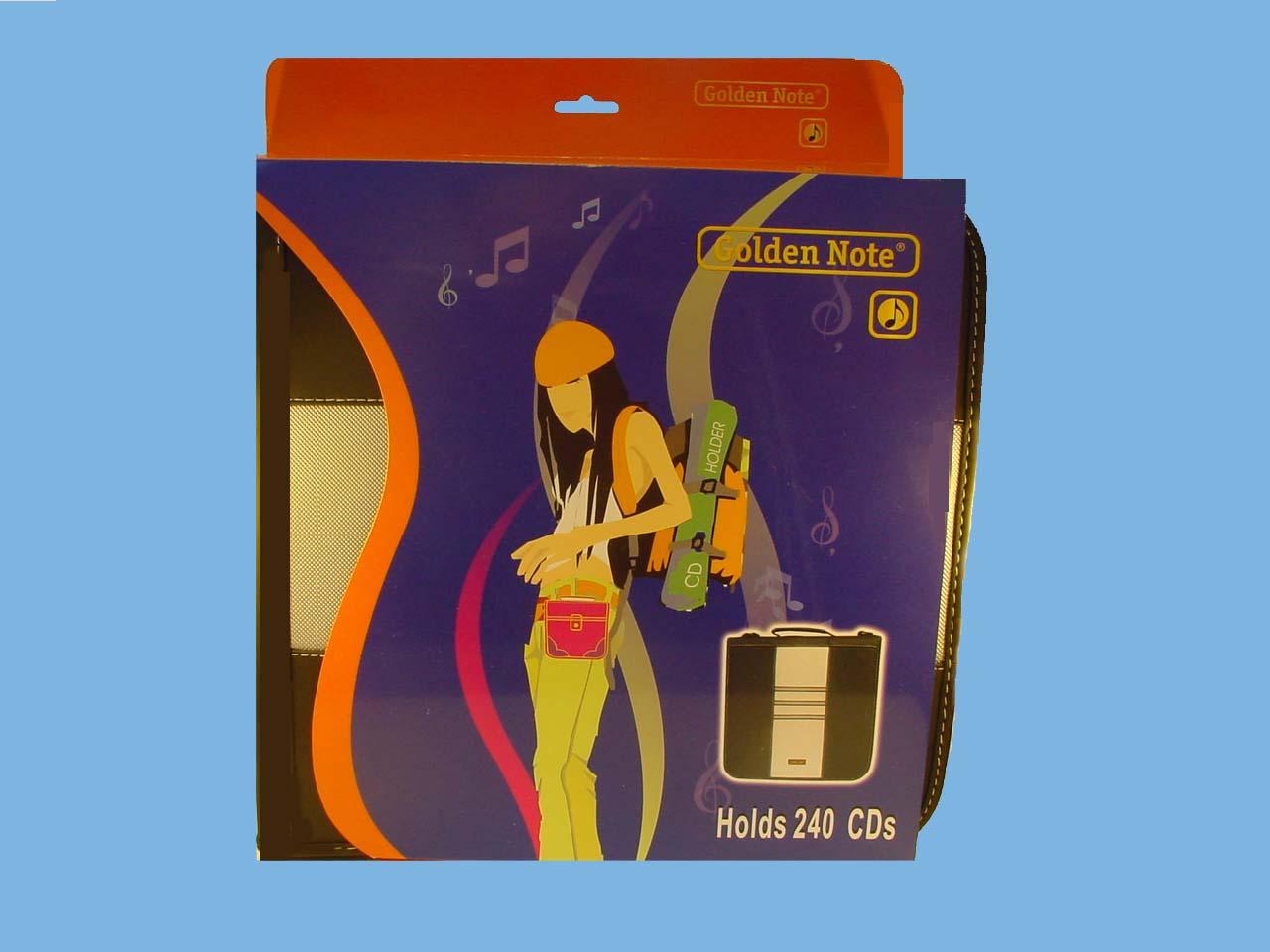 CD wallet 240 cd's