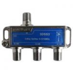 3D line 3 way splitter 1.2Ghz