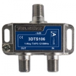 3D line 1 way tap, 6dB, 1.2Ghz