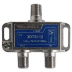 3D line 1 way tap, 12dB, 1.2Ghz