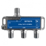 3D line 2 way tap, 10dB, 1.2Ghz