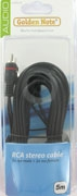 cinch verlengkabel stereo 5.00 mtr.