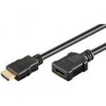 High speed hdmi verlengkabel met ethernet 1.50 mtr.