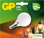 gp led kogel Filament 2,5w e14 (25w) Mat