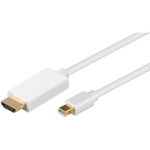 Mini Displayport HDMI kabel 1.00 mtr.