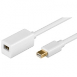 mini Displayport verlengkabel 1.00 mtr.