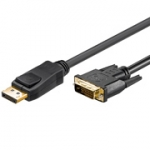 Displayport DVI kabel 2.00 mtr.