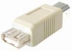 USB adapter A-contra > B-steker