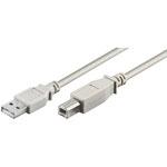 USB 2.0  A-steker > B-steker 1.00 mtr.