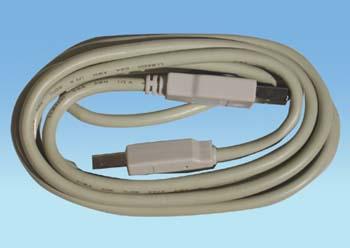 USB2.0 B-steker >  B-steker 1.80 mtr.