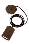 Calex retro pendel 2 mtr E40 brons 965256