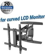 Curved en Flat LCD muursteun 32-65 inch
