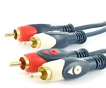Masterline cinchkabel stereo 1.50 mtr.