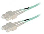 Duplex fiber optic netwerkkabel OM4 SC-SC 2.00 mtr