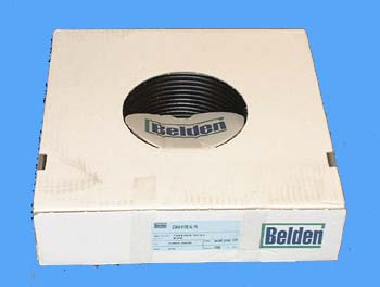 Coaxkabel Belden H121 zwart 100 mtr.