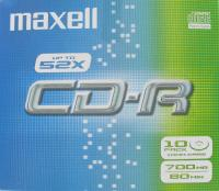 maxell cdr data 700mb jewelcase