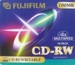 fuji cdrw data 700mb rewritable jewelcase