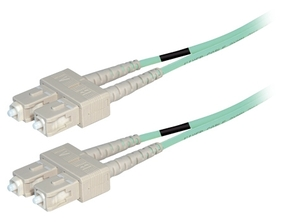 LWL netwerkkabel OM4 SC-SC 0.50 mtr.