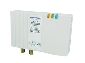 High speed internet over coax adapter moka 32