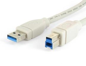 USB 3.0 A-steker > B-steker 5.00 mtr.
