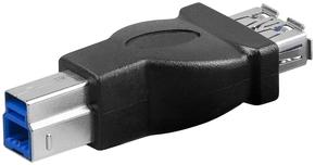 USB 3.0 adapter A-contra > B-steker