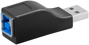 USB 3.0 adapter A-steker > B-contra