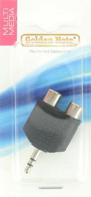 2x cinch naar 3.5mm adapter