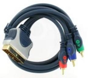 Masterline scart rgb kabel 10.00 mtr