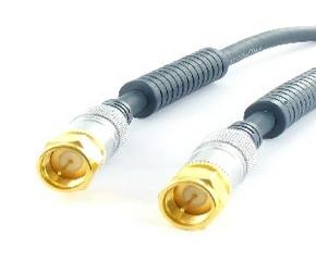 Sat-kabel F-steker > F-steker 3.75 mtr.
