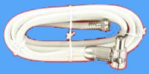 coaxkabel coax-steker > f-steker  1.50 mtr.