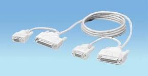 nul modem 25-D-female, 9-D-female > idem 1.80m.